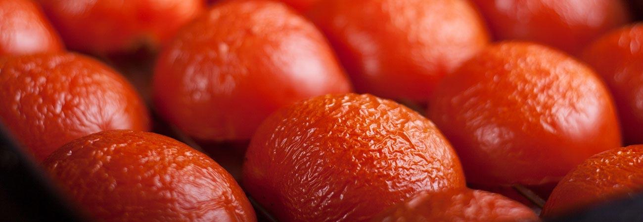 Semi sun oven dried tomatoes