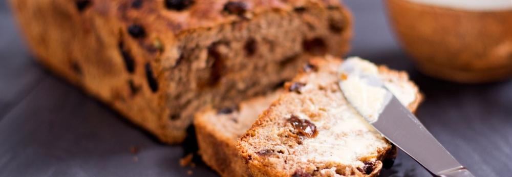 spelt fruit bread