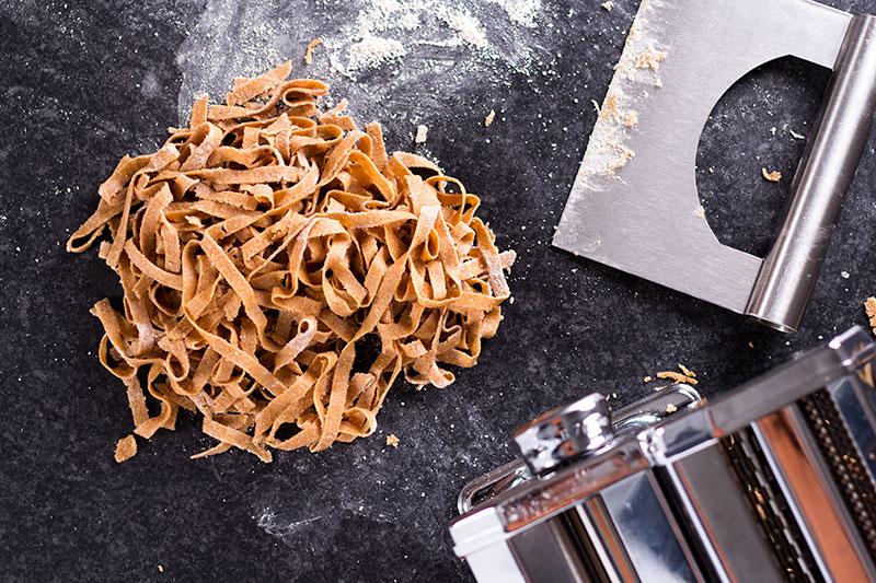 wholemeal spelt pasta tagliatelle