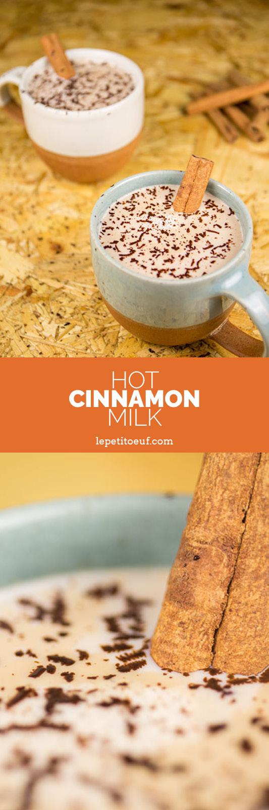 hot cinnamon milk