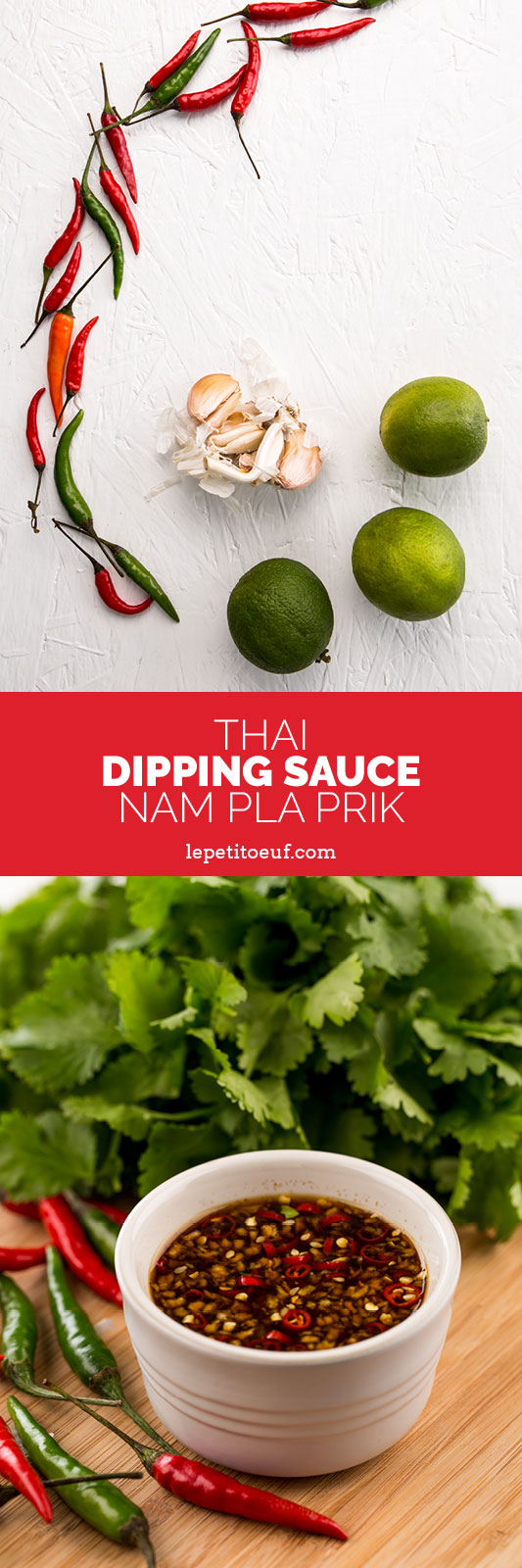 This sweet and spicy thai dipping sauce is the perfect addition to salads, meat or fish, or as a dip to go with spring rolls, summer rolls or anything else that needs an extra kick. Made with just five ingredients it's got a powerful chilli kick with potent flavours of fish sauce, lime juice, garlic and palm sugar. It's the perfect summer sauce, regardless of whether the sun is shining or not! Find the full recipe at brainfoodstudio.com