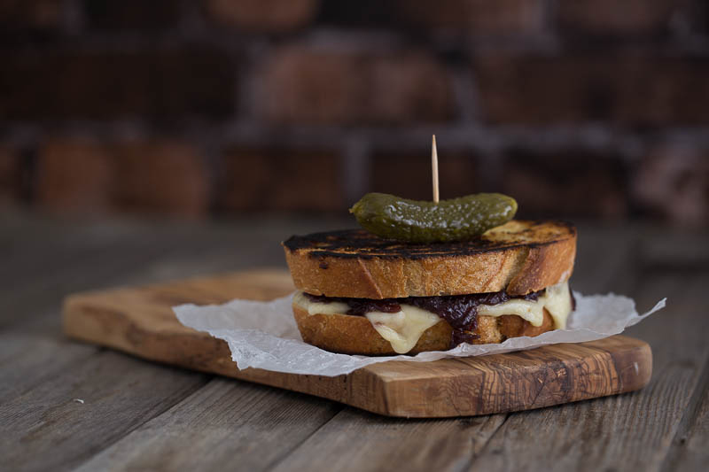 Here's a food photography lightroom tutorial along with how to make the perfect sourdough cheese toastie with homemade red onion chutney.