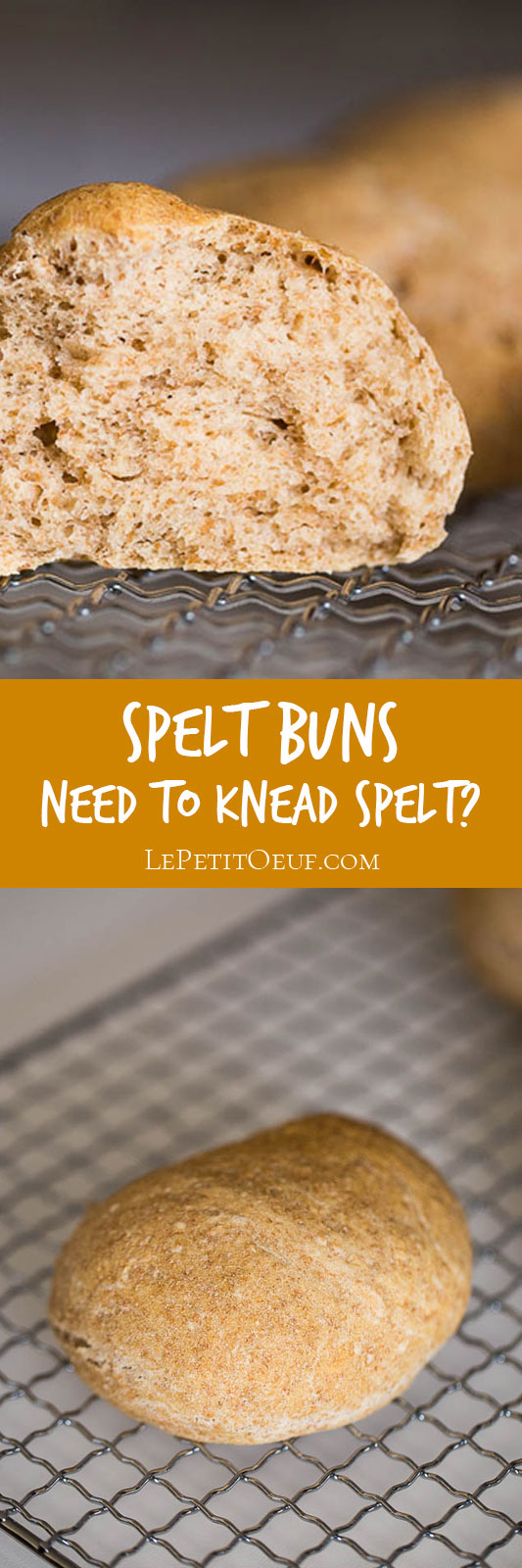 I've always wondered if I need to knead spelt dough, because it never seemed to make much difference. So I've done a side by side bake test to see if you really need to knead!