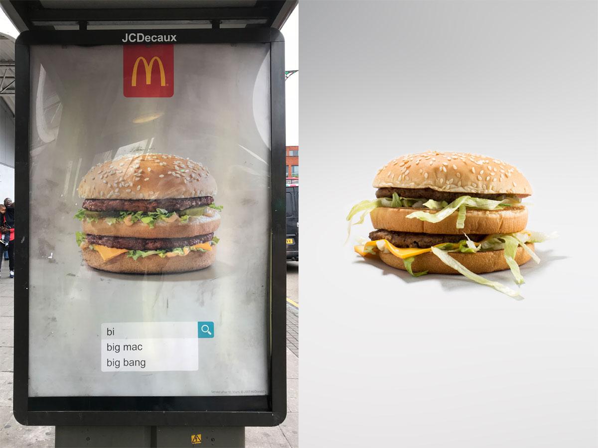 McDonalds Big Mac Advert Vs Real UK