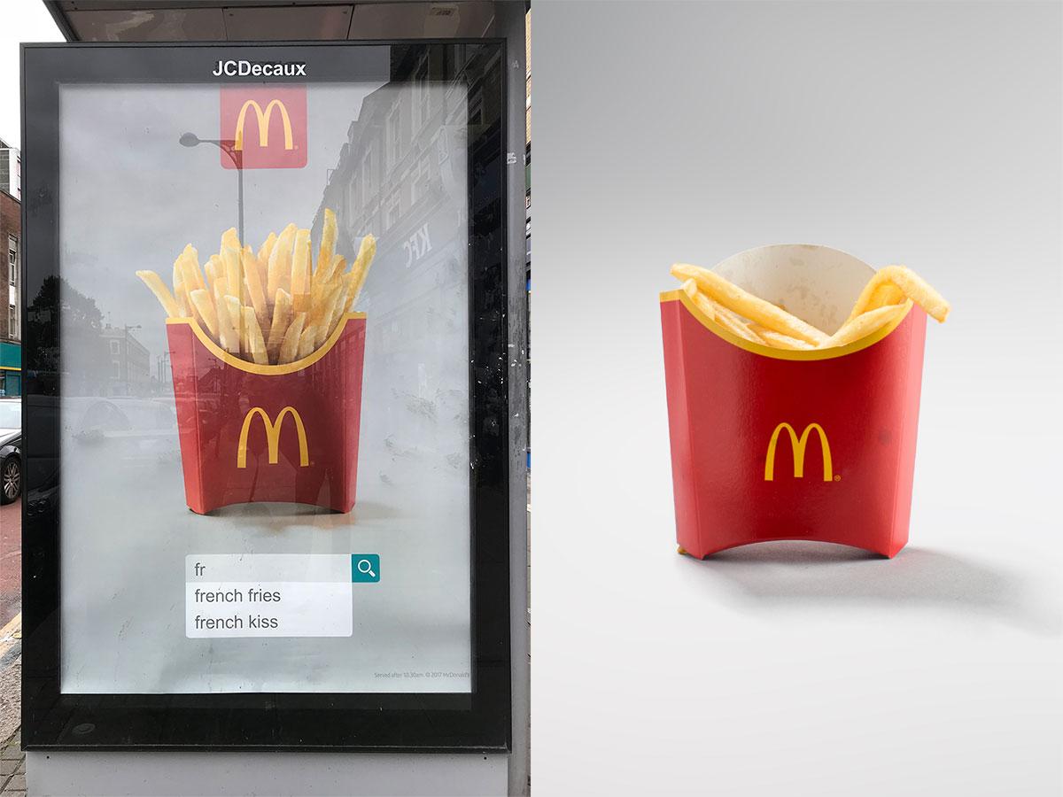 McDonalds Medium Fries Advert Vs Real UK