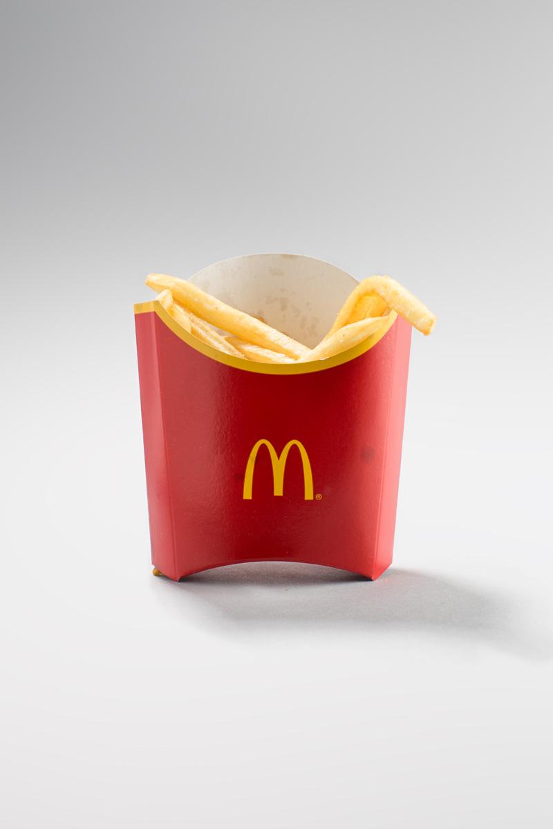 McDonalds Real Medium Fries Shot UK