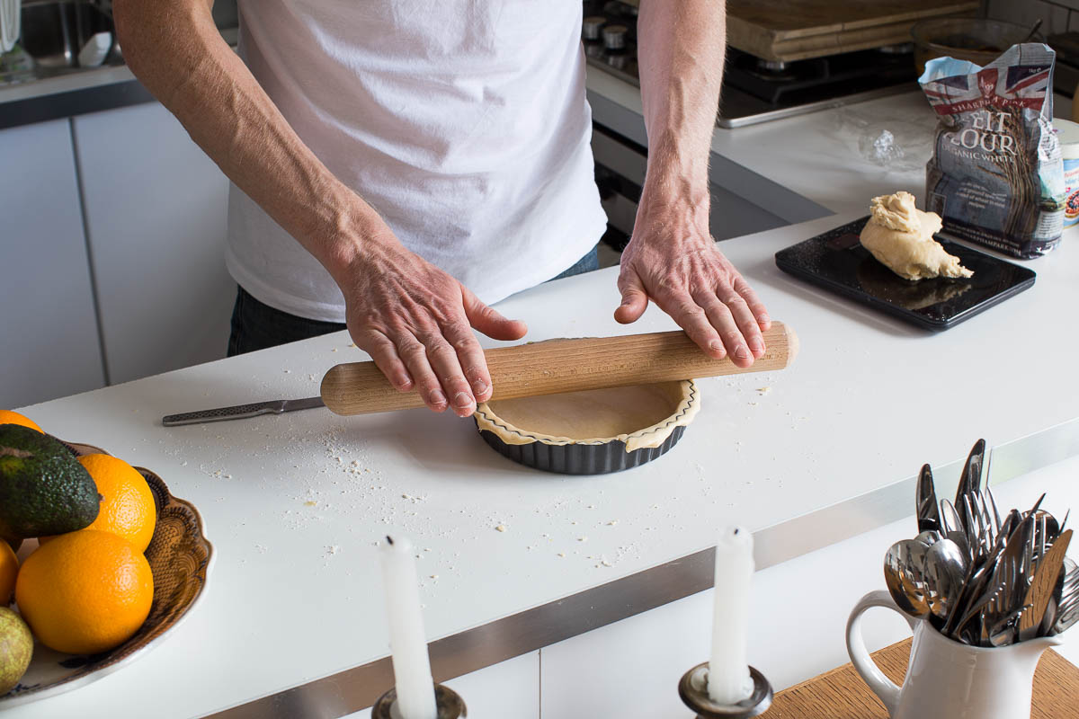 Spelt shortcrust pastry is a basic necessity for any home cook or baker and here's a soft, tender version made using spelt flour.