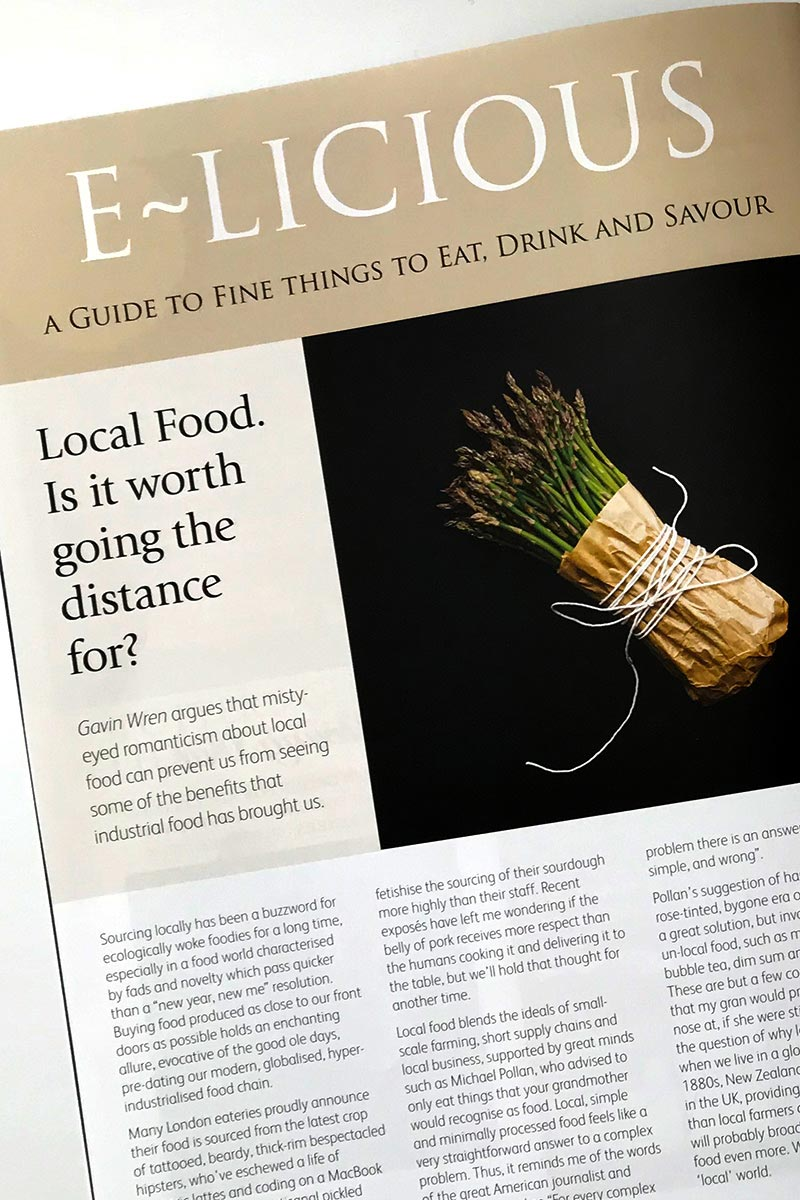 e-list-e-licious local food