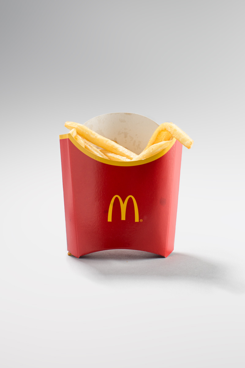 McDonalds fries real portion